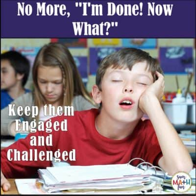 "Banish, ""I'm DONE!"" from your classroom with just this quick, easy, and FREE code challenge activity. #earlyfinishers #fastfinishers"
