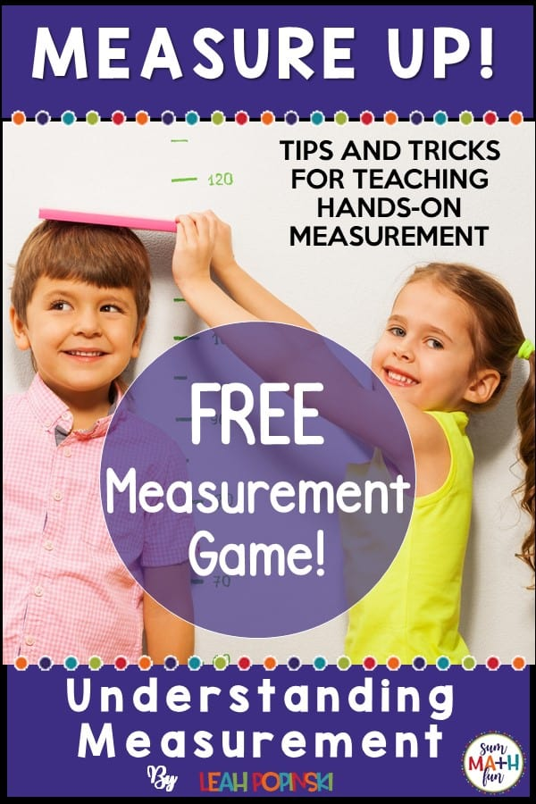 The 3 Critical Skills Of Teaching First Grade Measurement