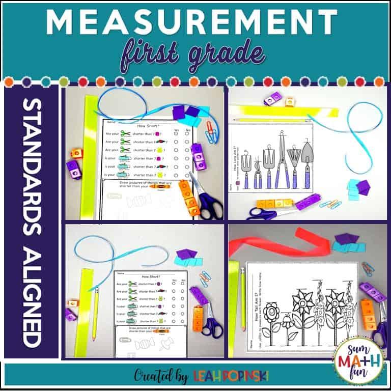 measurement-first-grade-non-standard #measurement #non-standard #firstgrade