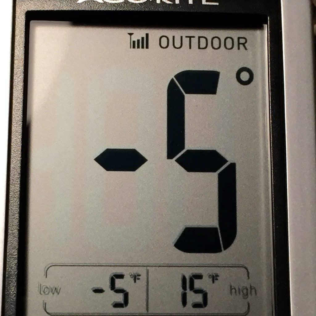 Temperature Dec 1 2015