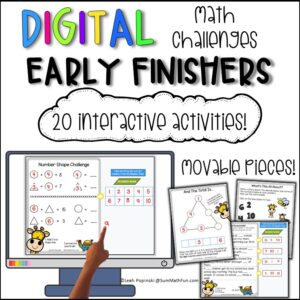 gifted-math-early-finishers-fast-homework-extensions #giftedmath #earlyfinishers #fastfinishers #mathextensions