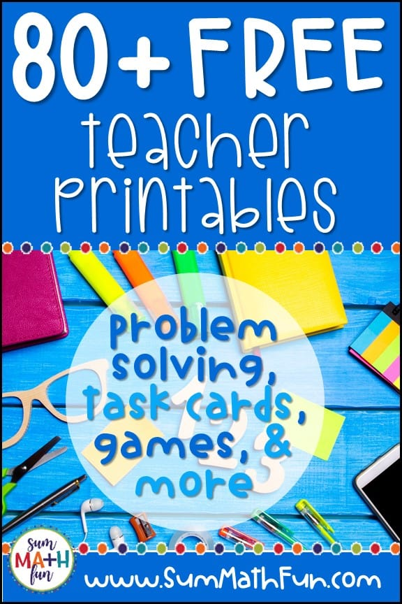 free-printables-math-kindergarten-first-2nd-3rd-4th-5th-grade #freeprintables #freemath #freemathresources