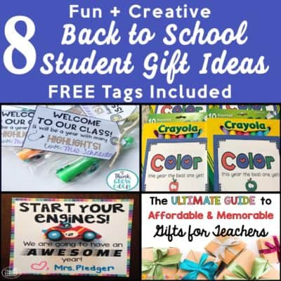 8 Creative, Easy, Fast, and Cheap Back to School Student Gifts