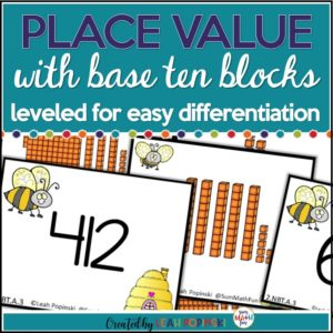place-value-base-ten-blocks #firstgrade #secondgrade #placevalue #basetenblocks
