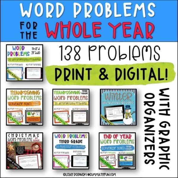 3rd-grade-word-problems-graphic-organizer-138-problems