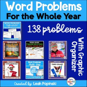 3rd-grade-word-problems-multi-step-differentiated-rigorous #3rdgrademath #3rdgradewordproblems