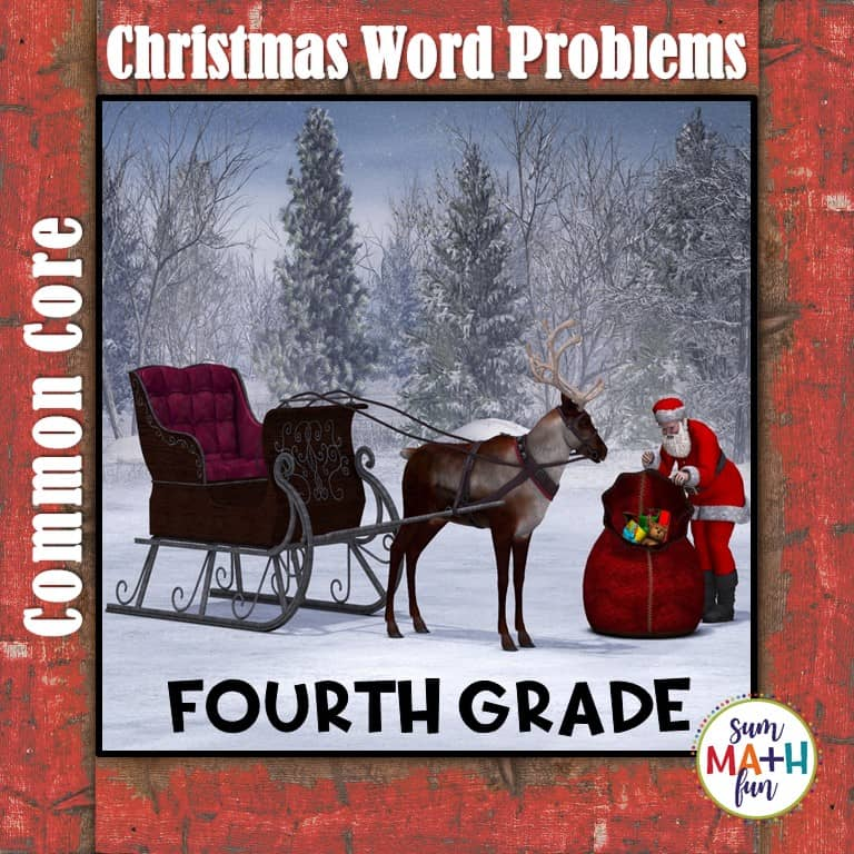 Can you actually teach math before Christmas break? Find tried and true teaching strategies here. #chrsitmasmath #christmasfou