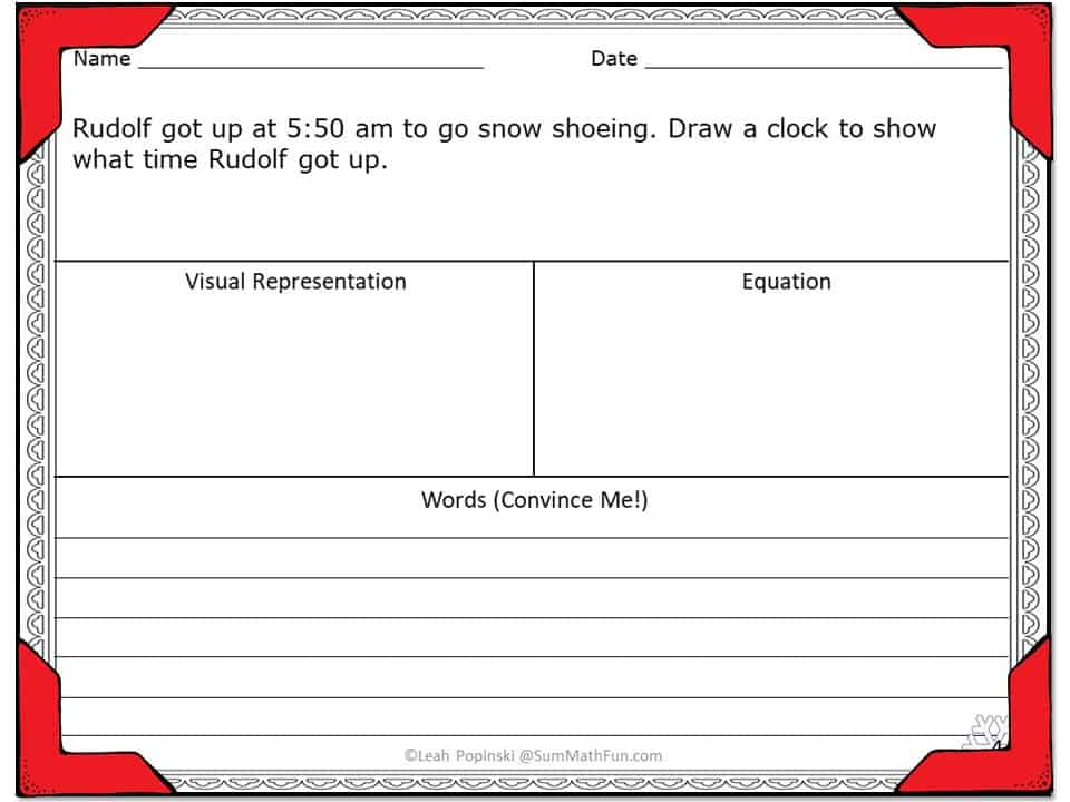 Can you actually teach word problems before Christmas break? Find tried and true teaching strategies here. #chrsitmasmath #christmasfou