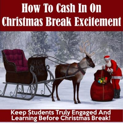Word Problems Before Christmas Break – Four Simple Strategies