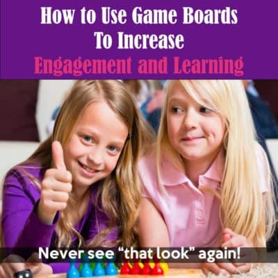 Use game boards to turn task cards and worksheets into a game-like format! Find out all the tricks and tips in this blog post.