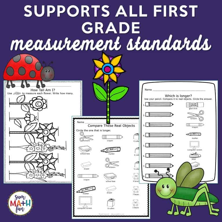 Measurement Activities For First Grade Hands On With