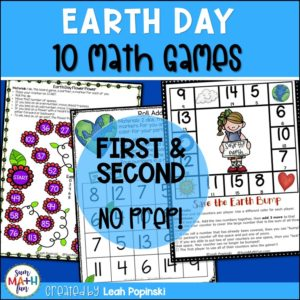 earth-day-activities-games-first-grade-2nd-math #earthday #earthdayactivities #earthdaygames