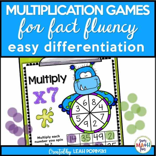 multiplication-games-halloween-monsters-3rd-fact-fluency #multiplicaitiongames #halloweenmathgames #3rdgrade