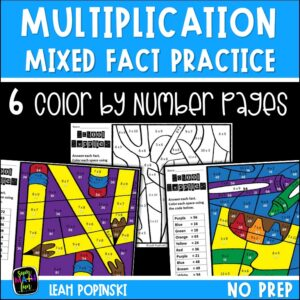 multiplication-worksheets-facts-3rd-4th-school-supplies #multiplication #multiplicationfacts
