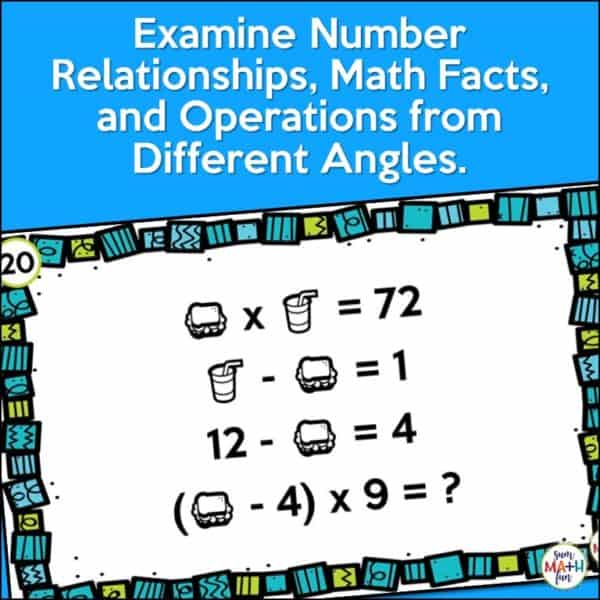 early-finishers-gifted-math-challenges-algebra-computation #earlyfinishers #giftedmath #mathchallenges