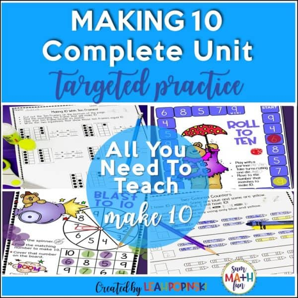 Make-10-composing-decomposing-numbers-first-kindergarten #make10 #composingnumbers #decomposingnumbers
