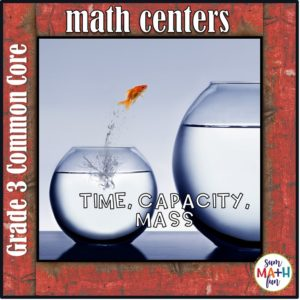 Measurement Third Grade Center Mass Capacity Size