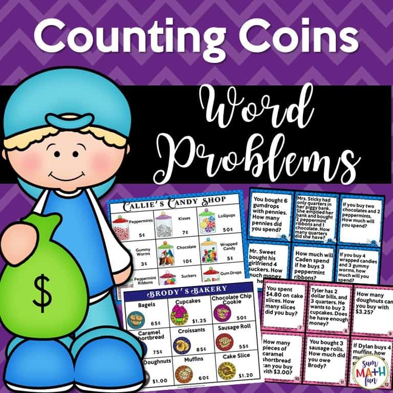 Money Word Problems - Financial Literacy - Sum Math Fun