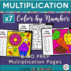 multiplication-color-by-number-factor-seven #multiplication #color #by #number #factor #seven
