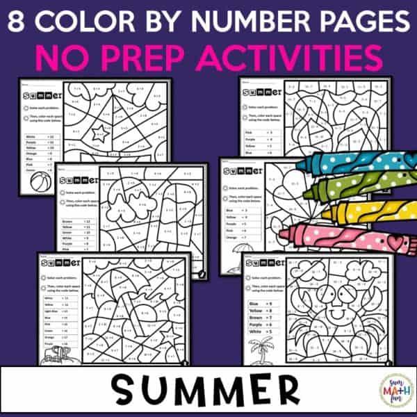 summer-addition-subtraction-worksheets #addition #subtraction #addition #worksheets