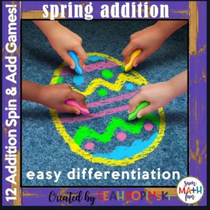 spring-easter-addition-games #spring #easter #addition #games