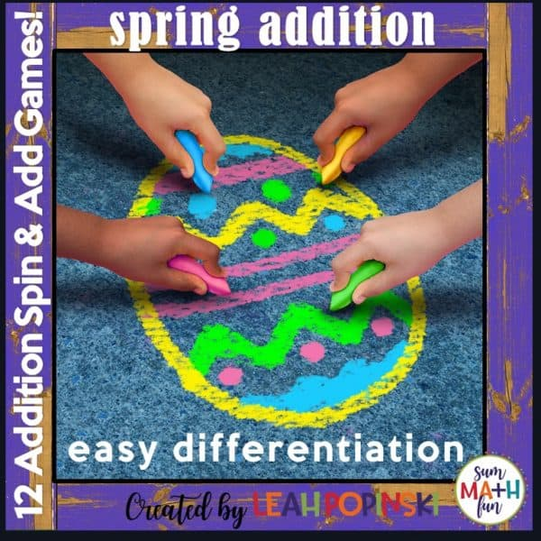 Spring-Easter-Addition-Games