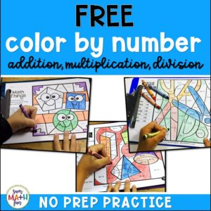 multiplication-worksheets-color #multiplication #worksheets #color