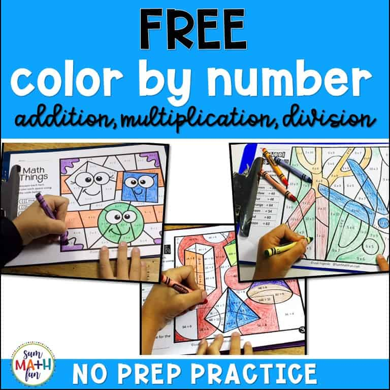 FREE Multiplication Worksheets (factors 3, 6, and 7) - Sum ...