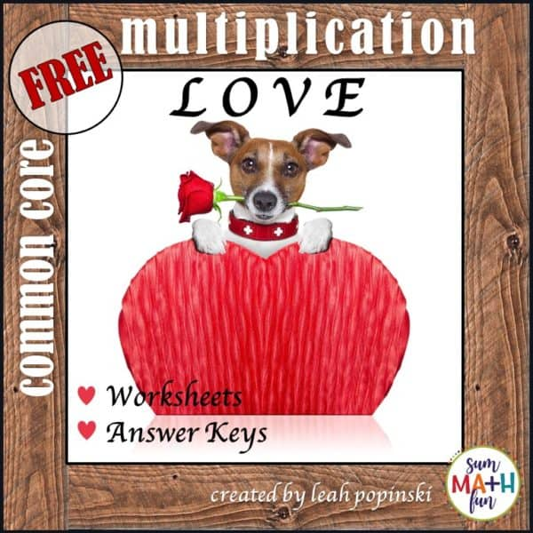 free-valentine-multiplication-worksheets #free #valentine #multiplication #worksheet