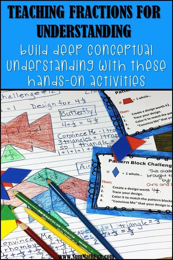 Hands-On Fraction Activities {FREE}