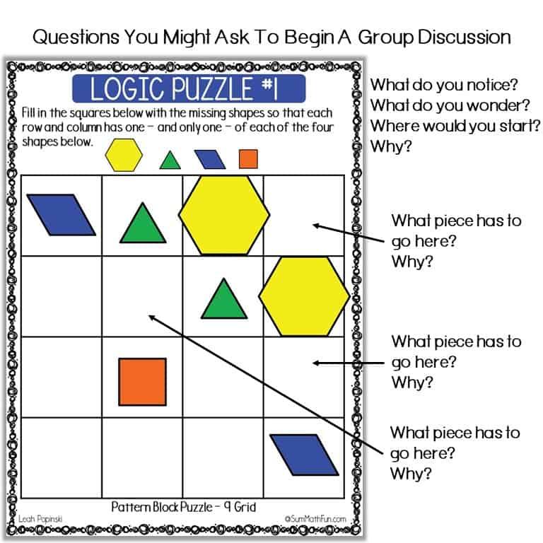 {free}-logic-puzzles-math-challenges #problemsolving #logicpuzzles #patternblocks