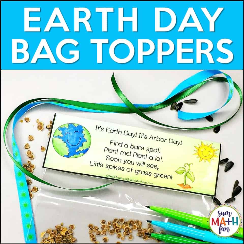 free-earth-day-arbor-day-bag-toppers #earthday #arborday #environment #plantingkids