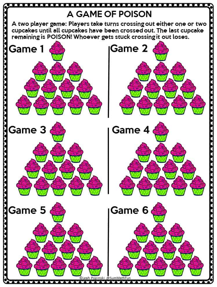 free-game-nim-poison-strategy-game #strategygame #freegame
