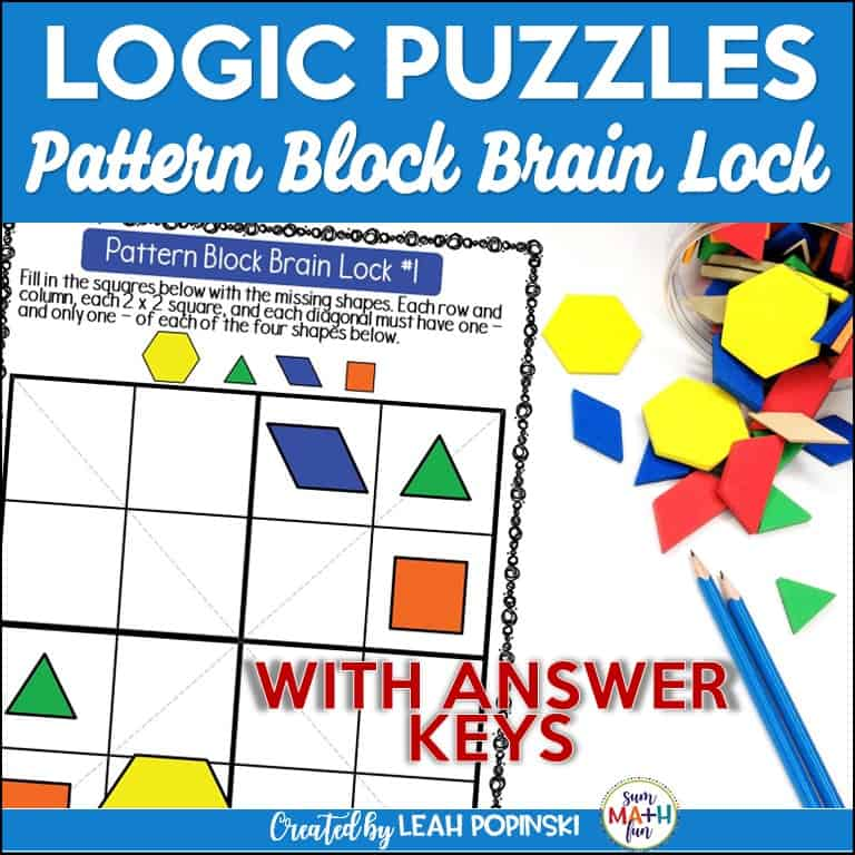 problem-solving-logical-reasoning-gifted-early-finishers-4th-5th-6th-grades-hands-on #logicpuzzles #problemsolving #4th #5th #6th
