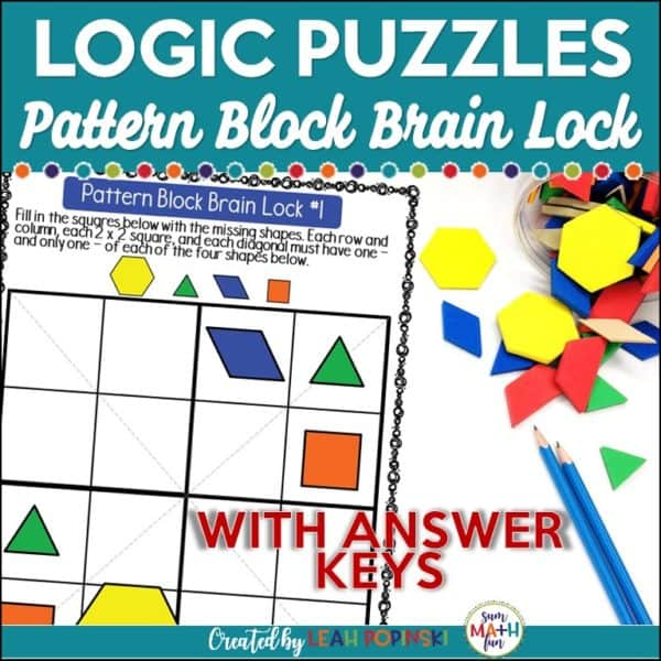problem-solving-logical-reasoning-gifted-early-finishers-4th-5th-6th-grades #problemsolving #earlyfinishers #gifted