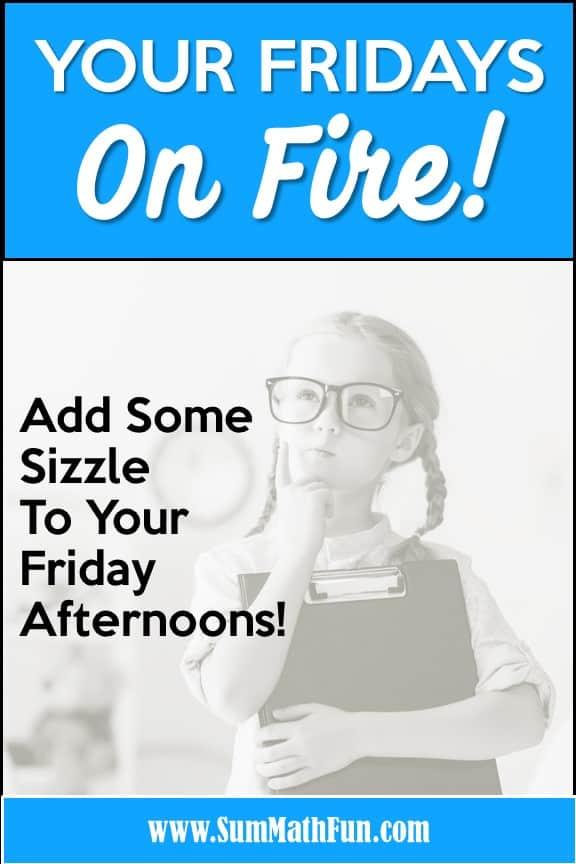Math Scavenger Hunts – Fun Fridays On Fire!