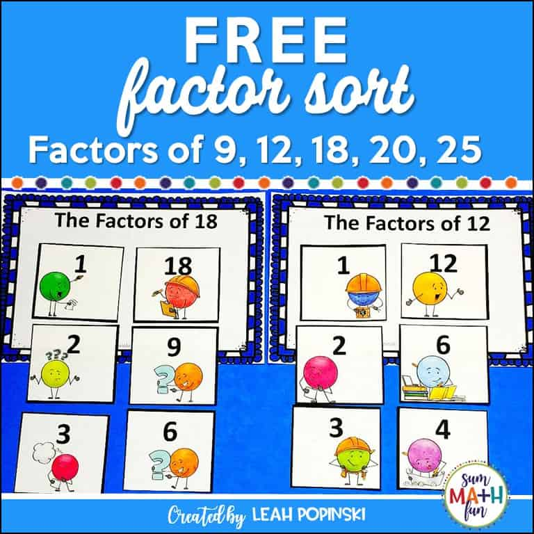 free-math-sorts-small-group-warm-ups #mathsorts #smallgroups #mathworkshop