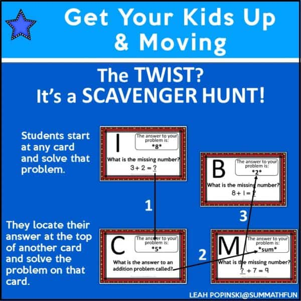 1stgrademathscavengerhunt #1stgrademath #firstgrademath