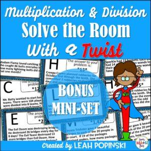 4th-grade-math-scavenger-hunt #4thgrademath #fourthgrademath