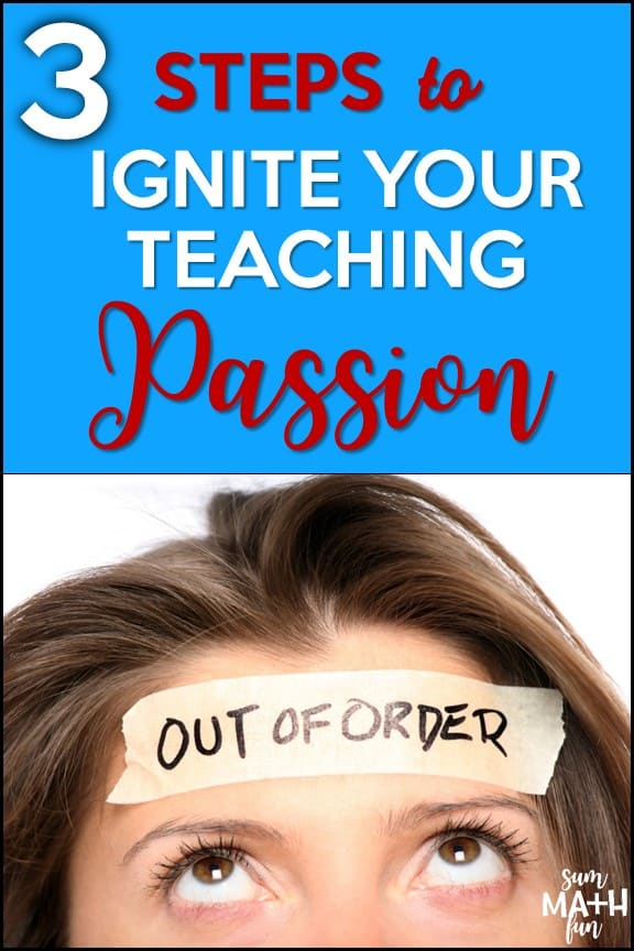 3 Steps to Become a Passionate Teacher