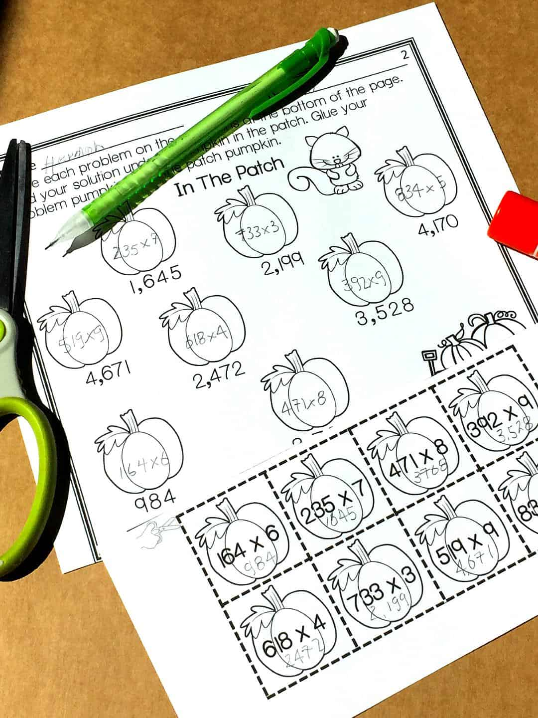 free-multiplication-worksheets-multi-digit #multiplication #freeworksheets #multiplicationworksheets