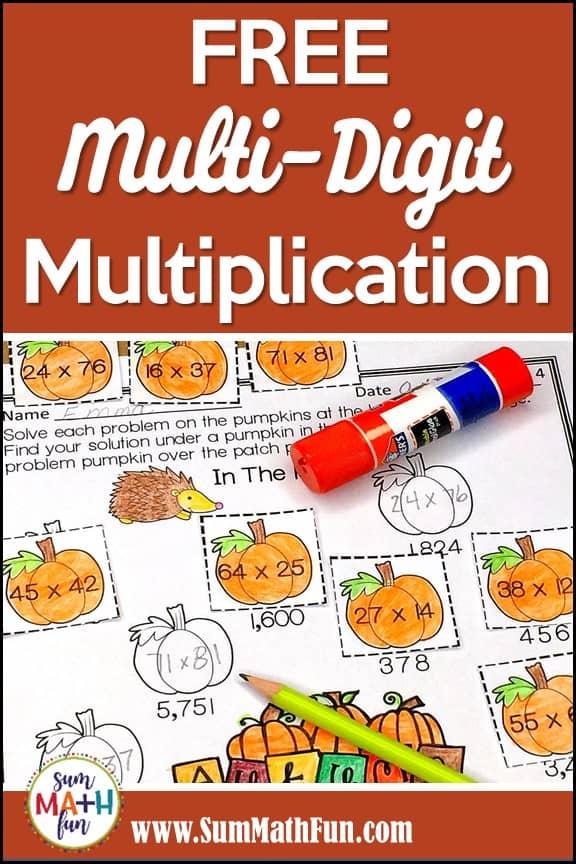 {Free} Multi-Digit Multiplication Worksheets