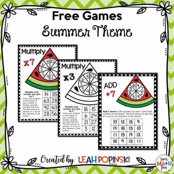 free-summer-addition-multiplication-games #summergames #freegames #additiongames #multiplicaitongames