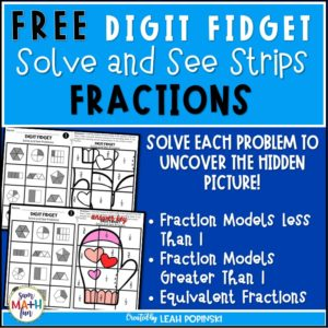 free-fraction-worksheets #freeprintables #freefractionworksheets