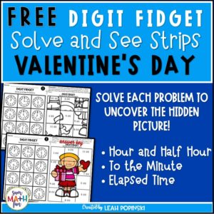 free-Valentines-tellingtime-worksheet #Valentinesworksheets #tellingtimeworksheets #tellingtime