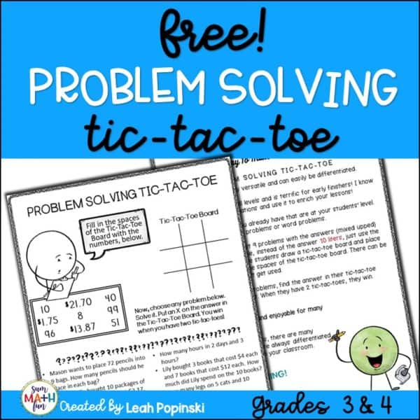 3rd-4th-grade-problem-solving #3rdgrade #4thgrade #problem #solving