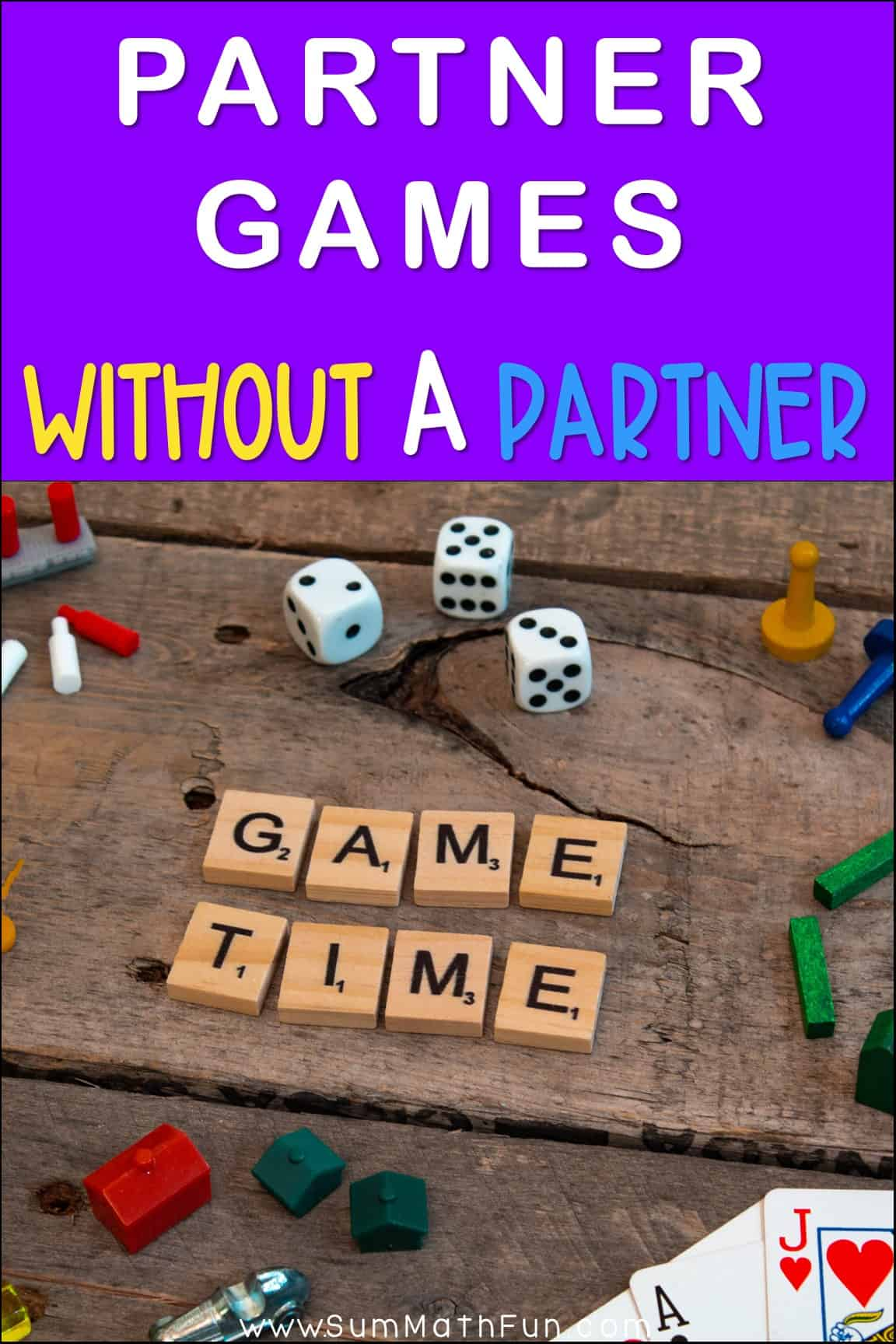 Partner Games Without a Partner - A Pandemic Solution